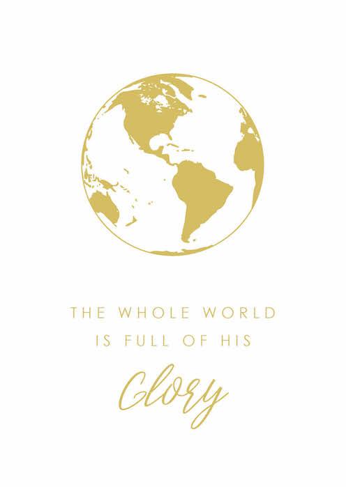 Postcard – Glory