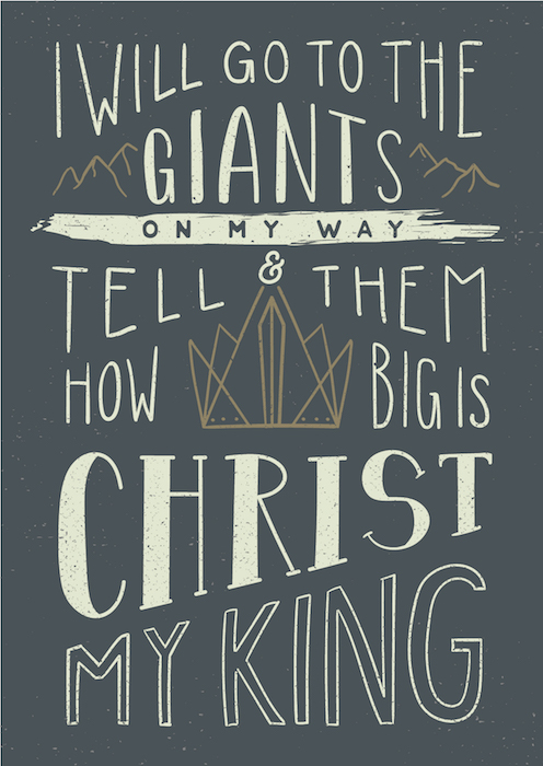 Postcard – Tell The Giants