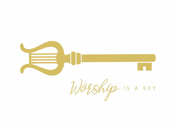 Postcard – Worship is a key